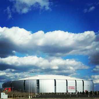 Photo of University of Phoenix Stadium in Glendale