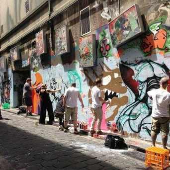 Photo of Hosier Lane in Melbourne