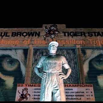 Photo of Paul Brown Tiger Stadium in Massillon