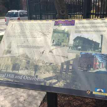 Photo of Otterbein Community sign/Gwynns Falls History in Otterbein, Baltimore