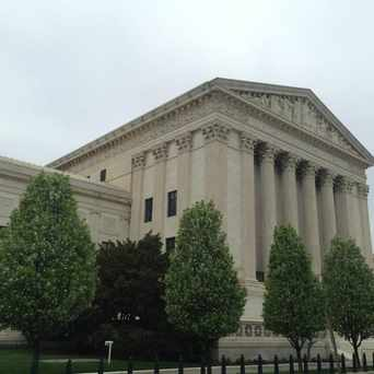 Photo of Supreme Court of the United States in Capitol Hill, Washington D.C.