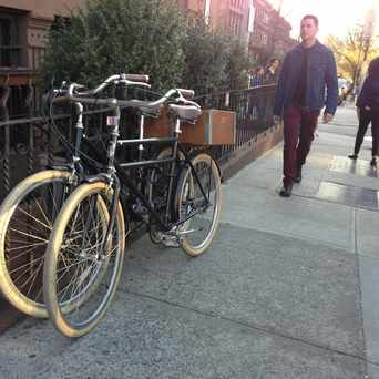Photo of Bike Love in Park Slope, New York