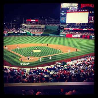 Photo of Washington Nationals Park in Navy Yard, Washington D.C.