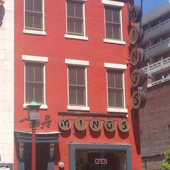 Photo of Ming's Restaurant in Chinatown, Washington D.C.