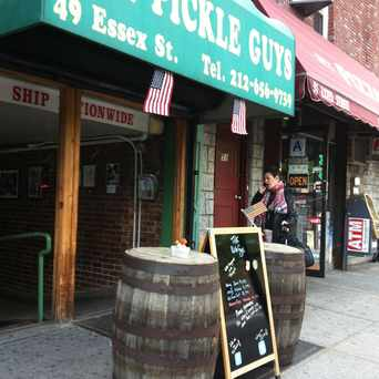 Photo of The Pickle Guys in Lower East Side, New York