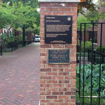 Photo of Old Town Triangle Historical Marker in Old Town Triangle, Chicago