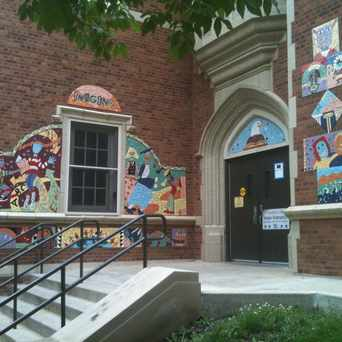 Photo of Ebinger Elementary School in Edison Park, Chicago