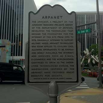 Photo of Arpanet Historical Sign in Arlington