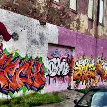 Photo of Southwest Philly Grafitti Wall in Cobbs Creek, Philadelphia