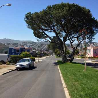 Photo of Miramar Avenue in Westwood Park in Westwood Park, San Francisco