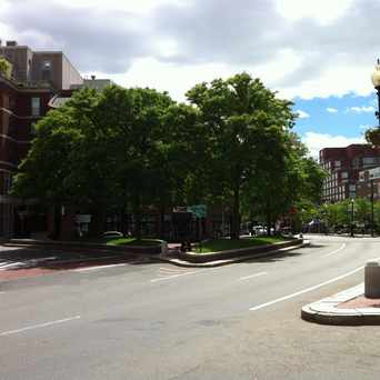 Photo of Brattle Square in West Cambridge, Cambridge