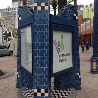 Photo of Westwood Village Directory in Westwood, Los Angeles