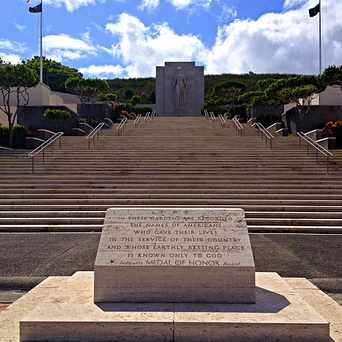 Photo of National Memorial Cemetery-Pacific in Nuuanu/Punchbowl, Honolulu