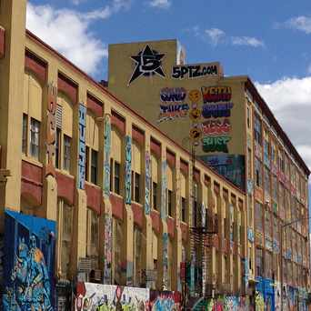 Photo of 5Pointz in Hunters Point, New York