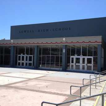 Photo of Lowell High School in Stonestown, San Francisco