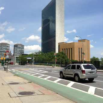 Photo of United Nations Plaza in Tribeca, New York