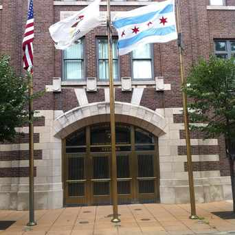 Photo of Chicago Military Academy High School in Bronzeville, Chicago