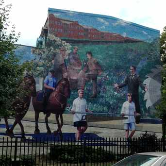 Photo of CPMAP Mural in Tacony, Philadelphia