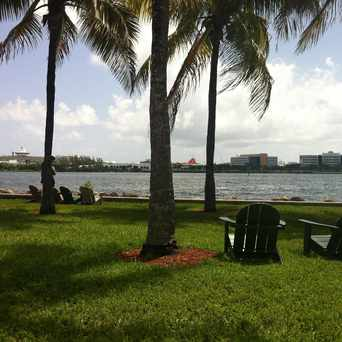 Photo of Bay front Park in Miami