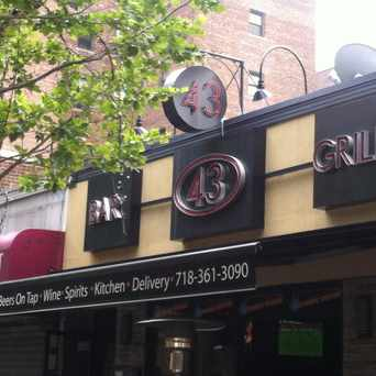 Photo of 43 Bar & Grill in Sunnyside, New York