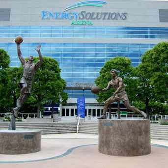 Photo of EnergySolutions Arena in Salt Lake City