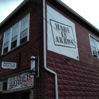 Barber Shop Highland Park : Photo of Highland Barber Shop in Highland Square, Akron