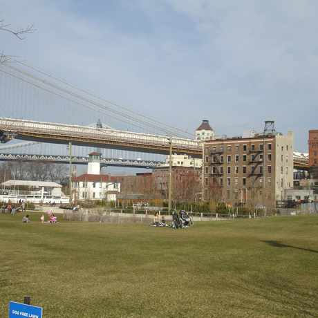 Photo of Brooklyn Bridge Park in DUMBO, New York