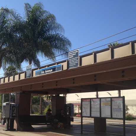 Photo of Iris Av Trolley Station in Otay Mesa West, San Diego
