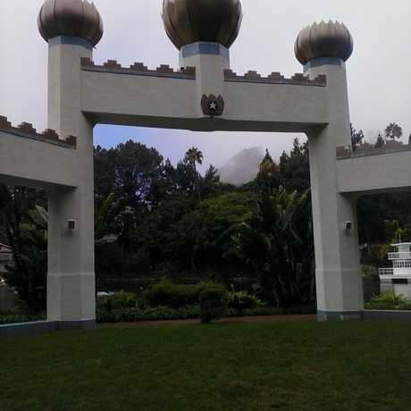 Photo of Self Realization Fellowship Lake Shrine Temple in Pacific Palisades, Los Angeles