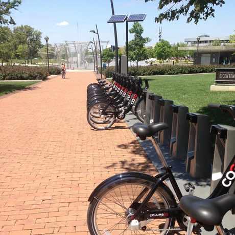 Photo of CoGo Bike Share in Columbus