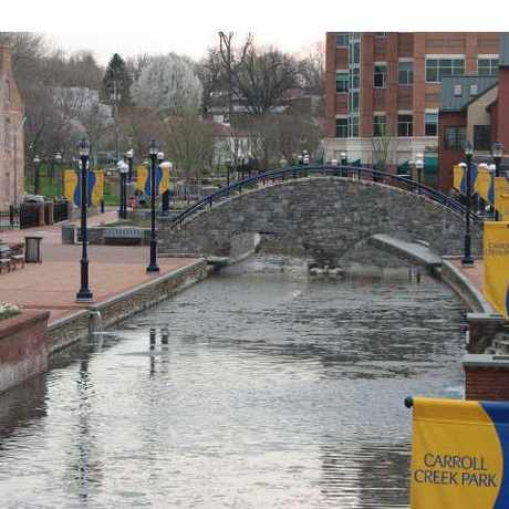 Photo of Carroll Creek Linear Park in Frederick