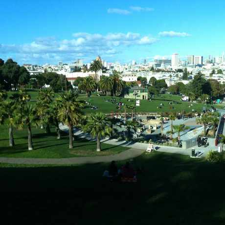 Photo of Mission Dolores Park in Mission, San Francisco