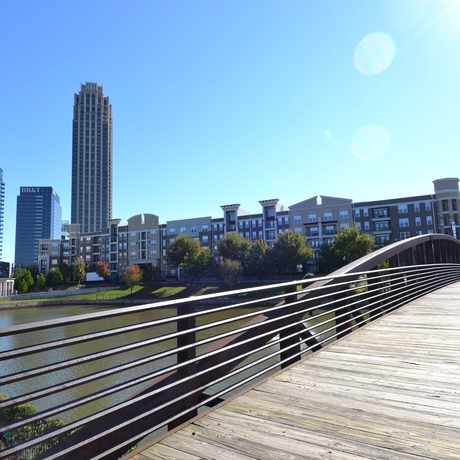Photo of Atlantic Station - Lake Hylia in Berkeley Park, Atlanta