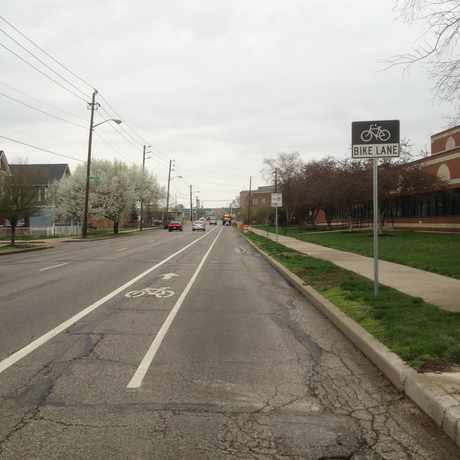 Photo of Illinois St & Fall Creek Pkwy S Dr in Indianapolis