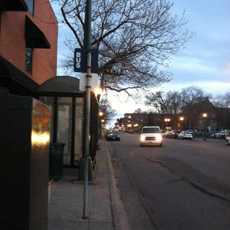 Photo of Nicollet Av S & 18 St E in Stevens Square, Minneapolis