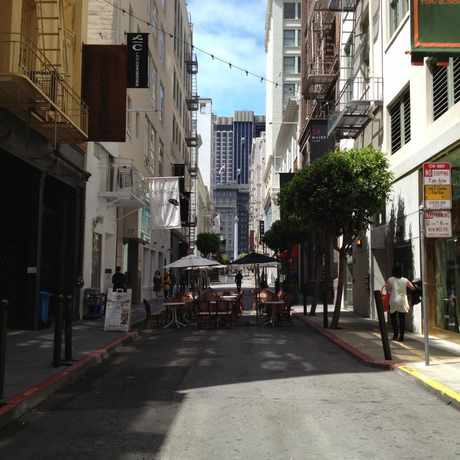 Photo of Maiden Lane in Downtown, San Francisco