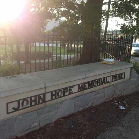 Photo of John Hope Memorial Park in Castleberry Hill, Atlanta