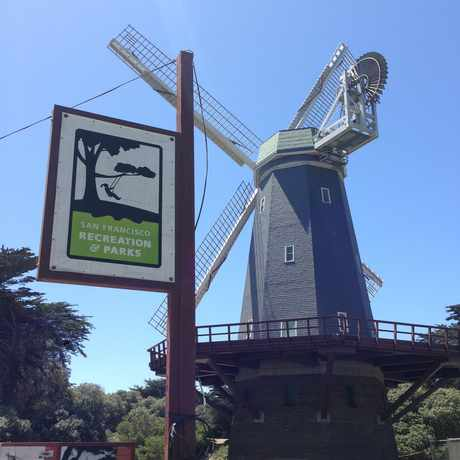Photo of Murphy Windmill at Golden Gate Park in Golden Gate Park, San Francisco