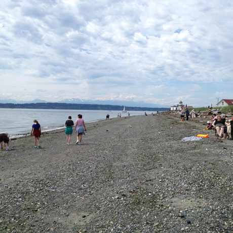 Photo of Discovery Park Beach in Magnolia, Seattle
