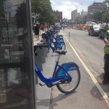 Photo of Citi Bike: 1 Avenue & E 15 Street in Stuyvesant Town, New York