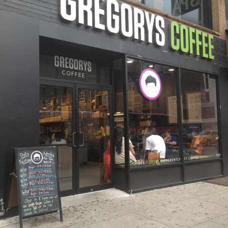 Photo of Gregorys Coffee in Garment District, New York