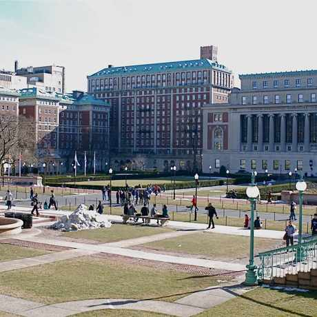 Photo of Columbia University Campus in Morningside Heights, New York