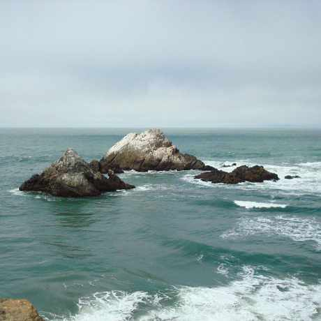 Photo of Seal Rocks Beach in Outer Richmond, San Francisco