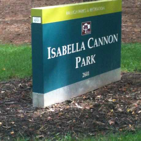 Photo of Isabella Cannon Park in Wade, Raleigh