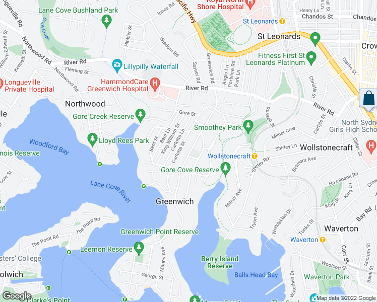 map of restaurants, bars, coffee shops, grocery stores, and more near 95 Greenwich Rd in Greenwich