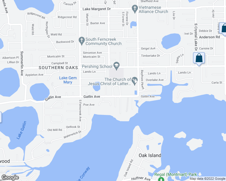 map of restaurants, bars, coffee shops, grocery stores, and more near 4608 Gatlin Oaks Ln in Orlando