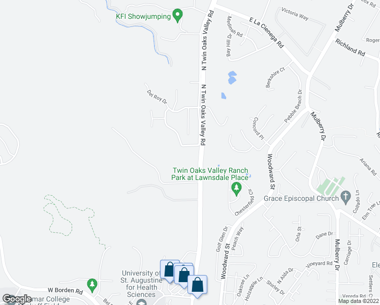 map of restaurants, bars, coffee shops, grocery stores, and more near in San Marcos