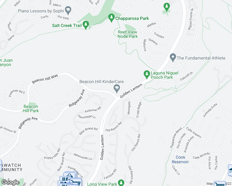 map of restaurants, bars, coffee shops, grocery stores, and more near None in Laguna Niguel