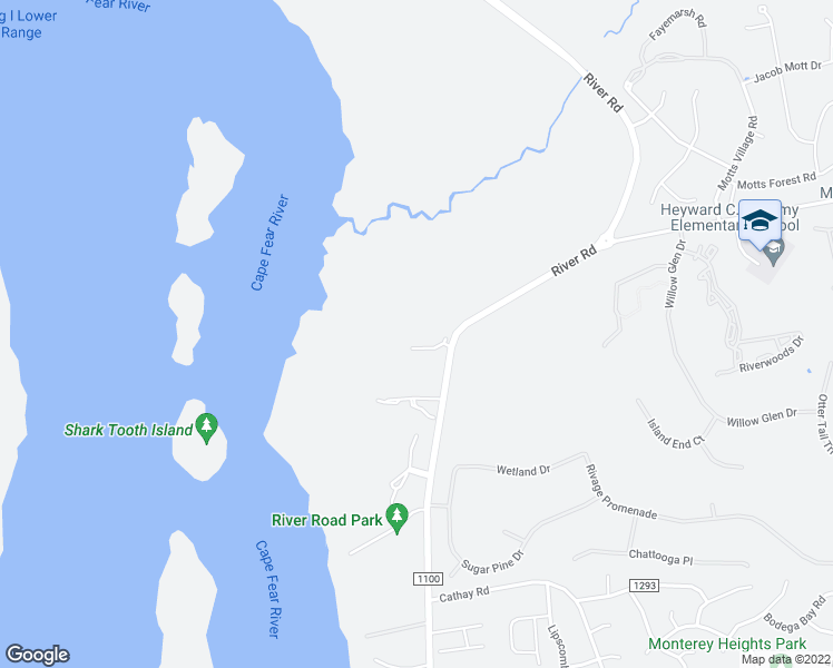 map of restaurants, bars, coffee shops, grocery stores, and more near 108 Turtle Cay Drive in Wilmington