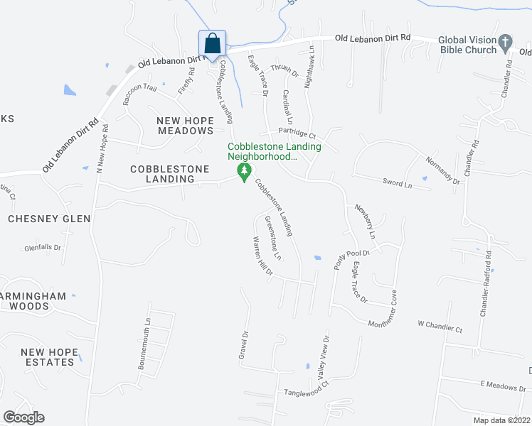 map of restaurants, bars, coffee shops, grocery stores, and more near Warren Hill Drive in Mount Juliet